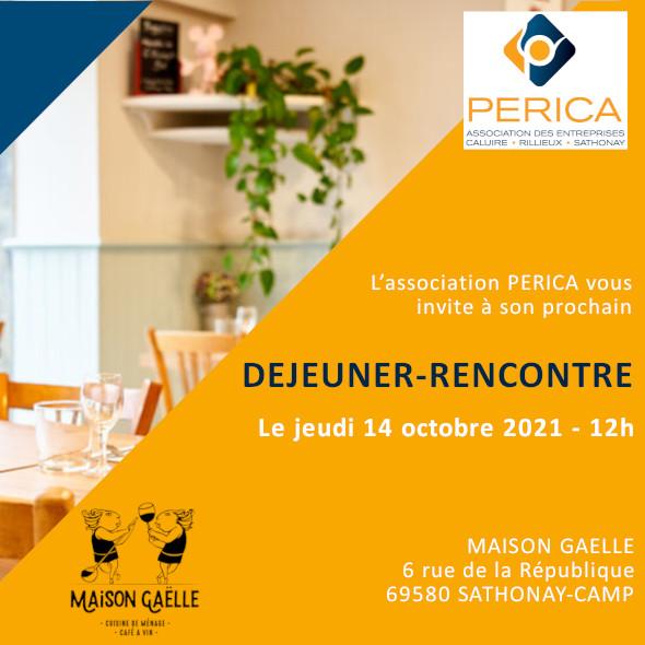 Déjeuner Rencontre PERICA - Octobre 2021